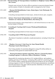 lawson f bernstein jr m d professional experience consultant 1991 2009 harmarville rehabilitation center brain injury unit pittsburgh pa staff