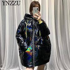 <b>YNZZU</b> Brand <b>Luxury 2018 Winter</b> Women's Down Jacket Vintage ...