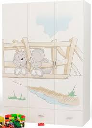 <b>Шкаф трехдверный ABC King</b> (Advesta) Bears купить в интернет ...