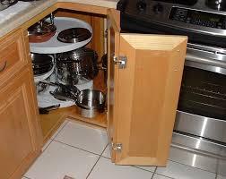 white kitchen corner cabinet