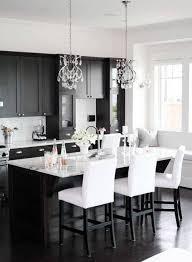black white kitchen designs home