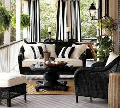 22 porch gazebo and backyard patio ideas creating beautiful outdoor rooms in summer black and white patio furniture