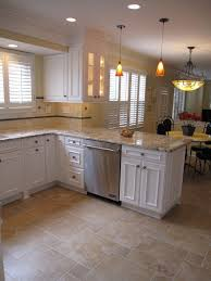 kitchen floor tiles small space: floor option with small offset tiles love the colors of this tile