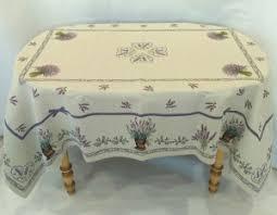 Лаванда лиловая <b>Скатерть</b> 137х180 см 7425 - Испанский текстиль