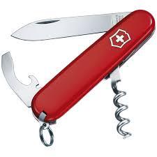 Нож складной, <b>мультитул Victorinox WAITER</b>, красный | Интернет ...