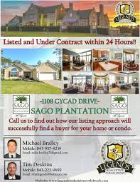 blog legends real estate myrtle beach 1108 cycad drive just listed and under contract