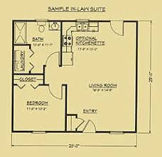 ideas about In Law Suite on Pinterest   House plans  Floor    Floor plan for mother in law suite