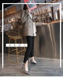 LTARTA 6.5cm <b>Sexy Leopard Pumps</b> High heeled <b>Shoes</b> Spring ...