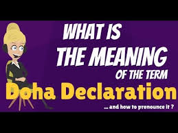 Image result for doha declaration