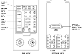1997 ford expedition xlt the fuse box diagram triton graphic