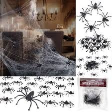 <b>Halloween Decorations</b> Stretchable Cobweb Halloween Party ...