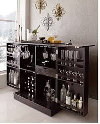 the steamer bar cabinet and wine storage by cratebarrel bar trunk furniture