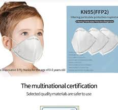 €46 with coupon for <b>10Pcs Kids Disposable 3</b> ply KN95 FFP2 Masks ...