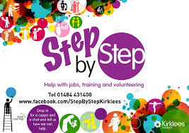 kirklees community campus step by step project help jobs everyone is welcome either looking for work right now or in the future or needs help and advice to training or volunteering opportunities