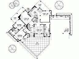 Eplans Adobe House Plan   Two Story Santa Fe   Square Feet    Level