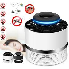 Safe <b>Photocatalytic Mosquito Killer</b> Silent Lamp LED Non-Toxic UV ...