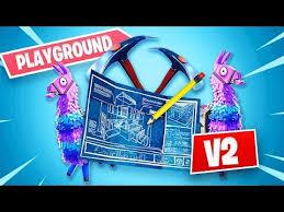 New Fortnite Update *Playground Mode V2* (Fortnite Battle Royale ...