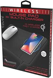 Tzumi <b>Wireless Charging</b> Mouse Pad and <b>Rechargeable</b> Mouse