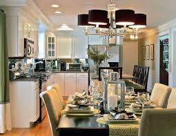 Black Formal Dining Room Set Small Dining Room And Kitchen White Wood Wall Dark Glossy Wooden