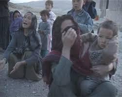 گریه و شیون بازماندگان شهداء شیعیان هزاره
