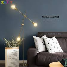 <b>KAIT Modern</b> Gold Floor Lamp Tripod Standing Lamps Metal for ...