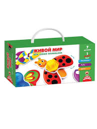 Развивающая <b>игра</b> Живой мир для самых маленьких <b>Vladi</b> Toys ...