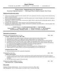executive assistant administrative assistant resume and executive  click here to this consular or administrative assistant resume template
