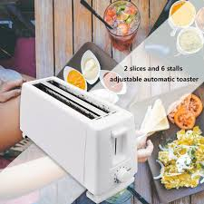 SH Large Capacity <b>Toaster</b> 4 Piece Automatic <b>Toaster Home</b> ...