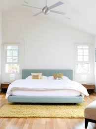 master bedroom example of a minimalist master bedroom design in los angeles with white walls and bedroom ideas light wood