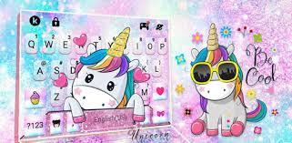 Cute <b>Dreamy Unicorn</b> Keyboard Background - Apps on Google Play