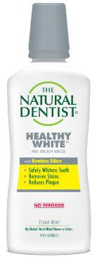 <b>Healthy White Pre-Brush</b> Rinse