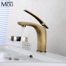 bathroom basin sink chrome pull