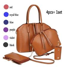 <b>Hot Sale 4pcs</b> Set Bag Designer Handbag For Women With Good ...