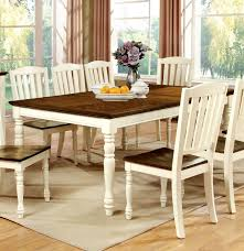 Cottage Style Kitchen Tables Furniture Of America Cm3216t Harrisburg Transitional Cottage