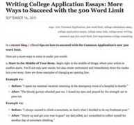 Common College Application Essay Questions  One of the most nerve wracking times in the tpk ast com