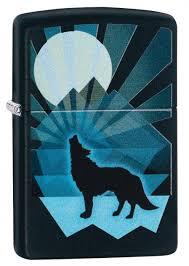 ROZETKA | <b>Зажигалка Zippo</b> 218 <b>Wolf</b> And Moon <b>Design</b> (29864 ...