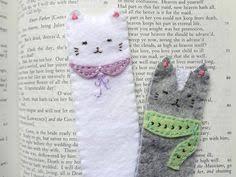 cat felt bookmarks cat lovers 27 diy