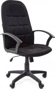 <b>CHAIRMAN 737 Кресло</b> руководителя Ткань TW TW-11 Чёрный ...