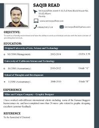 Sample Resume For Recent College Graduate  recent graduate resume