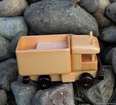 <b>Машина Грузовик</b> №2 Деревянная игрушка   Деревянные ...