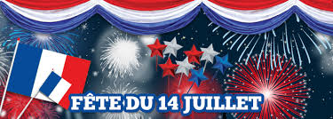 Bon 14 Juillet!  Happy Bastille Day!