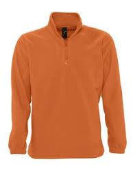 <b>Толстовка из флиса NESS</b> 300, оранжевая под нанесение ...
