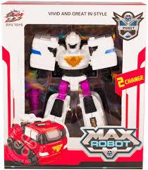 Игрушка <b>Maya Toys</b> Робот-трансформер Пожарная <b>машина</b>