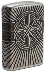 <b>Зажигалка Armor</b>® <b>Armor</b> Celtic Cross Design <b>ZIPPO</b> 29667 купить ...