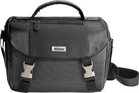 Nikon <b>Digital SLR Camera Bag</b> Black 9793 - Best Buy