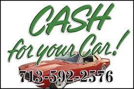 Cash for Junk Cars – Houston Junk Car Buyer