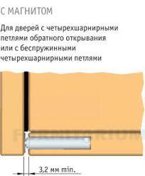 <b>K</b>-<b>PUSH 13 мм</b> врезной с магнитом, 4523 152, 4523 152 - купить ...