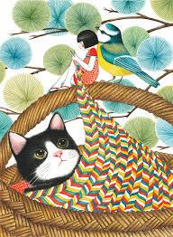 <b>Спокойной ночи</b>, <b>Миюки</b>! | Кошачий арт, Иллюстрации кот ...