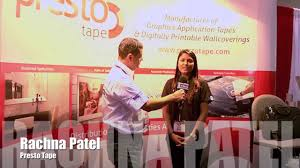 interview rachna patel marketing coordinator for presto tape interview rachna patel marketing coordinator for presto tape at sgia 2013