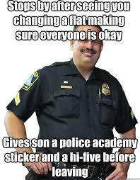 Good Guy Cop memes   quickmeme via Relatably.com
